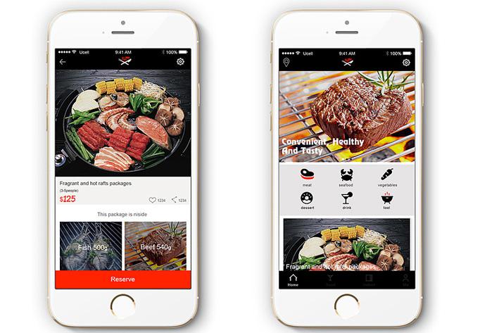 订餐外卖APP开发如何通过视觉界面设计打败竞品