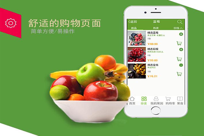 新零售生鲜电商App开发,更注重用户体验