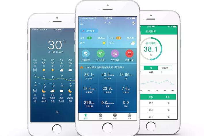 人工智能农业App开发
