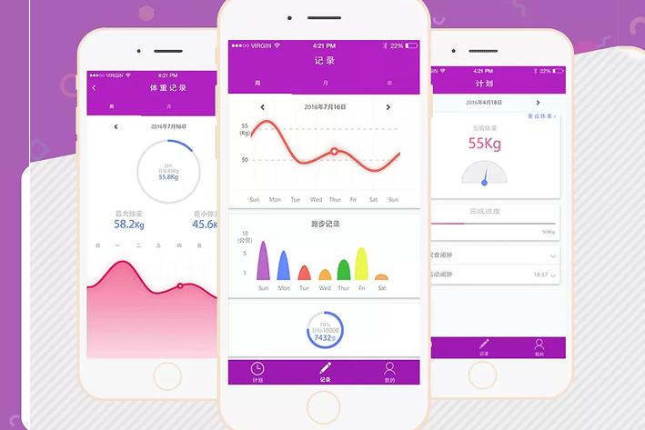 减肥瘦身App开发三大原则