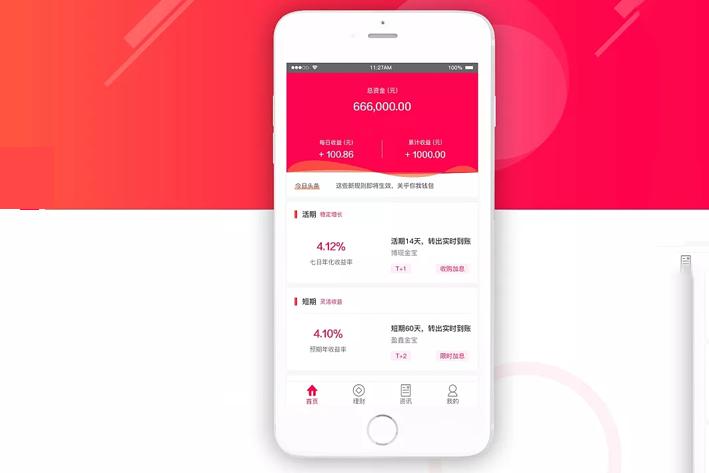 金融理财App开发对用户分析