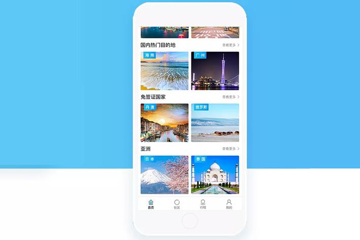 旅游类App开发制怎样的