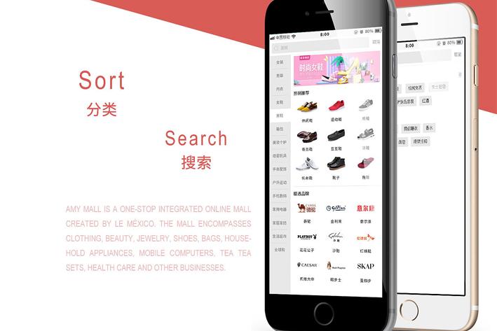 购物商城App开发方案功能