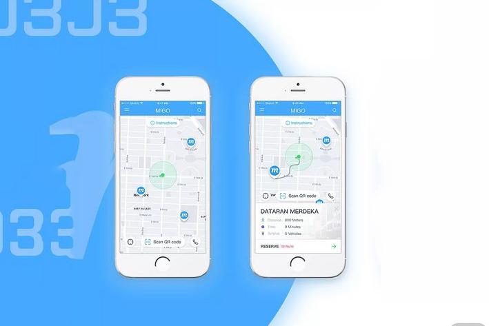 共享电动车App开发方案