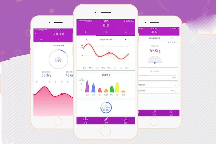 减肥健身App开发发现更美的你