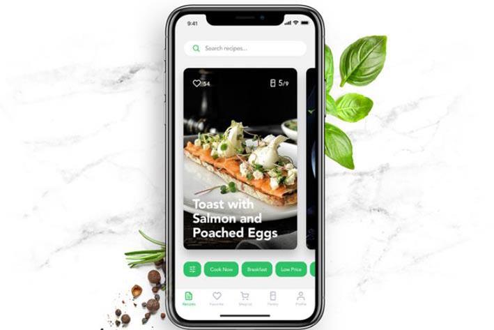 菜谱app软件开发
